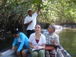 Boat ride in Jaltepeque Estuary, El Salvador