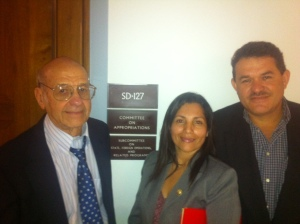 Estela, Hal, and Walberto_Senate Subcommittee on State and Foreign Operations