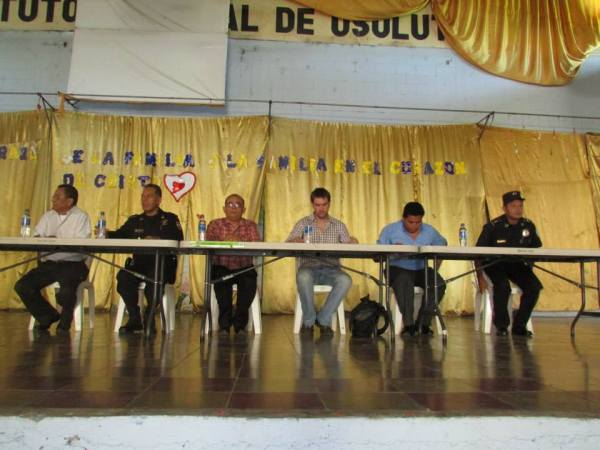 Signing of the PNC Convenio