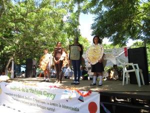 Hawksbill festival costume contest.